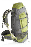 65 litre rucksack, isolated royalty free stock image