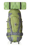 65 litre rucksack, isolated royalty free stock photos