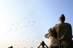 65ste Herdenking In de lucht in Ede royalty-vrije stock foto