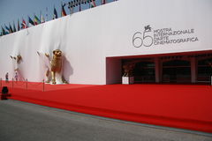 65th Venice Film Festival. The entrance of Cinema Palace in Venice, for the 65th Film Festival Stock Photos