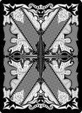 65x90 подпирают карточку mm играя сторону Стоковая Фотография