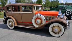 66 1930 b骑士轿车willys 免版税库存图片