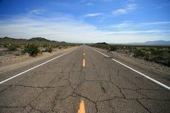66 desert highway route Στοκ φωτογραφία με δικαίωμα ελεύθερης χρήσης