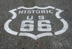 66 drogowa trasa Zdjęcia Stock