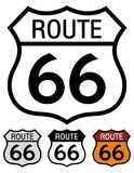 66 trasa ilustracja wektor