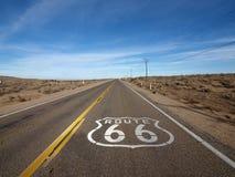 66 trasa zdjęcie stock