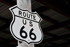 66 trasa oryginalny znak Obraz Royalty Free