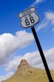 66 trasy znak Zdjęcie Stock