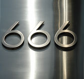 666. The number of the beast Stock Images