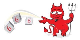 666 Imagem de Stock