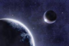 667 μ spacescape διανυσματική απεικόνιση