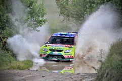 66th Rally Poland 2009 Stock Images
