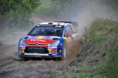 66th Rally Poland 2009 - Dani Sordo Stock Photography