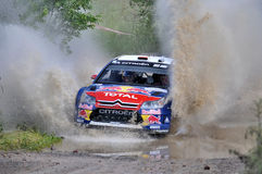 66th Rally Poland 2009 - Dani Sordo Royalty Free Stock Image