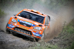 66th Rally Poland 2009 - Henning Solberg Stock Photography