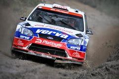 66th Rally Poland 2009 - Krzysztof Holowczyc Stock Photo