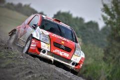 66th Rally Poland 2009 - Martin Prokop Royalty Free Stock Image