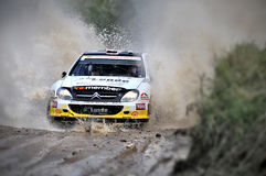 66th Rally Poland 2009 - Peter Solberg Royalty Free Stock Photo