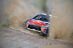 66th Rally Poland 2009 - Sebastien Loeb Royalty Free Stock Photo