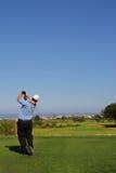 67高尔夫球运动员 库存照片