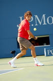 67 2008 Roger Federer pan nas otwarte Obrazy Stock