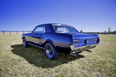 67' Mustang Stock Photography