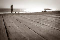 6746 strand laguna går Royaltyfri Foto