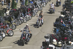 67th Однолетнее ралли мотоцикла Sturgis, Стоковое Изображение RF