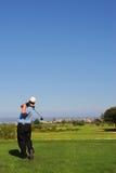 68高尔夫球运动员 图库摄影