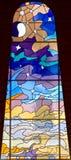 68 окно запятнанное стеклами Стоковое Фото