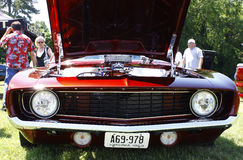 69 Chevy Camaro Images libres de droits