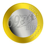 69 Erotic Euro Coin Stock Photography