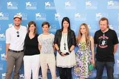 69.o Festival de película de Venecia Foto de archivo