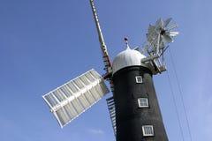 6955 Windmolen Skidby dichtbij Hull, Humberside, Engeland Stock Afbeeldingen