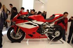 69th EICMA 2011 - Agusta-exposição do milivolt Foto de Stock