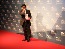 69th Festival de película de Veneza Foto de Stock