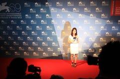 69th Festival de película de Veneza Imagem de Stock