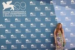 69th Festival de película de Veneza Fotografia de Stock