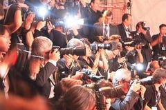 69th Venedig filmfestival Arkivbild