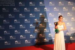 69th Venice Film Festival Stock Images