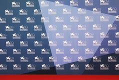 69th Venice Film Festival. Waiting for the nex actor at photo call area during the 69th Venice Film Festival on September 8, 2012 in Venice, Italy Stock Image