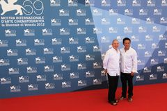 69th Venice Film Festival Royalty Free Stock Photo