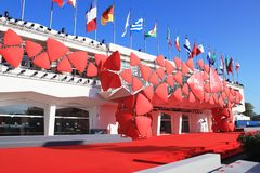 69th Venice Film Festival Stock Image