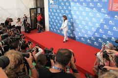 69th Venice Film Festival Royalty Free Stock Photography