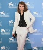 69th Venice Film Festival. Noomi Rapace poses for photographers at 69th Venice Film Festival on September 8, 2012 in Venice, Italy Royalty Free Stock Photography