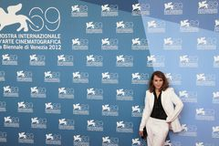 69th Venice Film Festival. Noomi Rapace poses for photographers at 69th Venice Film Festival on September 8, 2012 in Venice, Italy Stock Photography