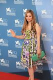 69th Venice Film Festival. Mina Tander poses for photographers at 69th Venice Film Festival on September 8, 2012 in Venice, Italy Stock Photos
