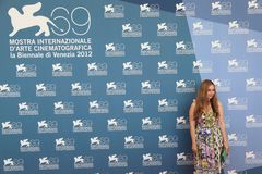 69th Venice Film Festival Stock Photography