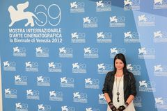 69th Venice Film Festival. Alex Schmidt poses for photographers at 69th Venice Film Festival on September 8, 2012 in Venice, Italy Royalty Free Stock Photography