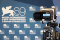 69th Venice Film Festival Stock Images